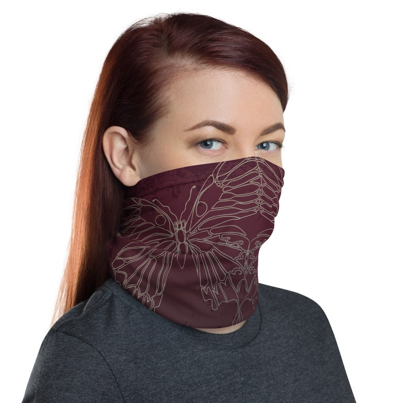 Transform Reflection Wine  Washable Cloth Face Covering / image 0