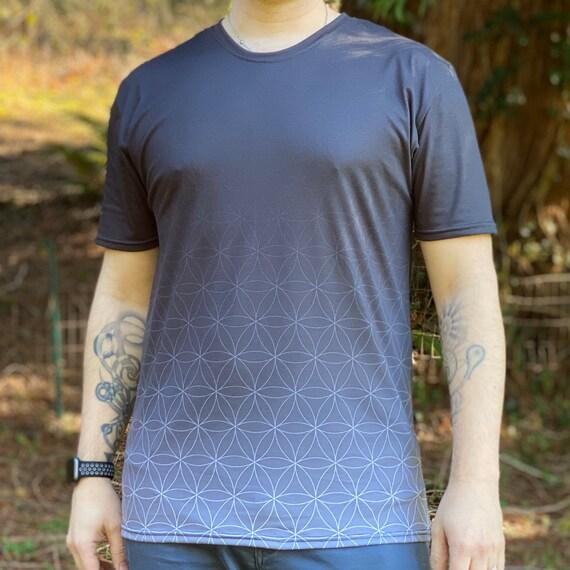 Fading Flower of Life - Sacred Geometry Shirt for Men