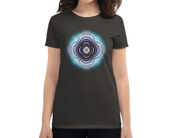 Progressive Mandala - Sacred Geometry Shirt for Women