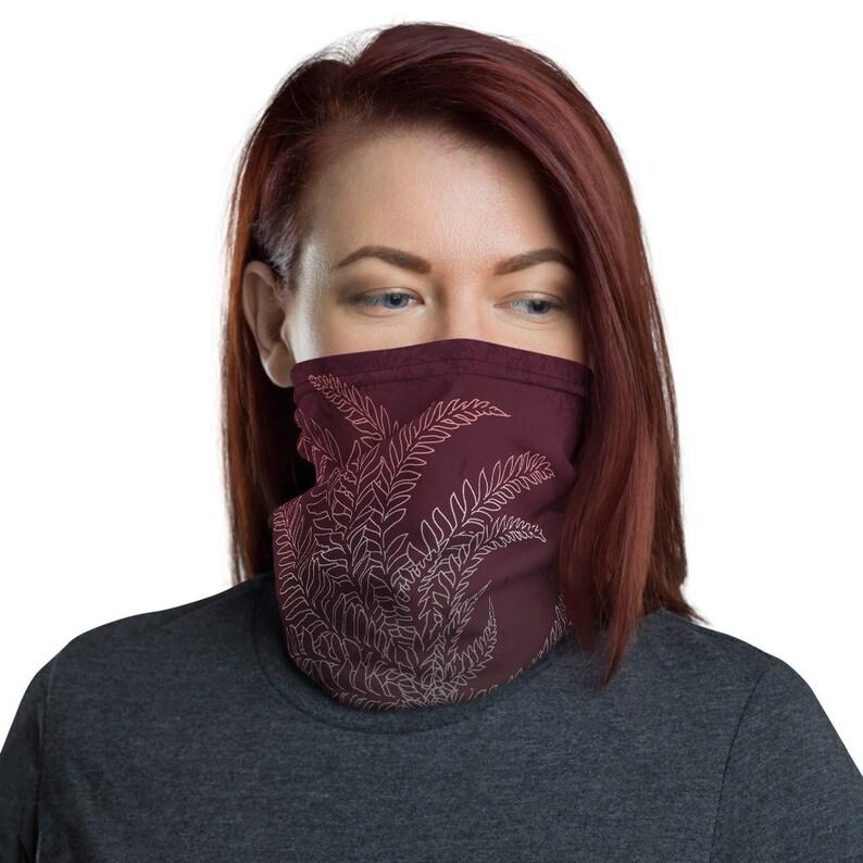 Breathe Wine  Washable Cloth Face Covering / Neck Gaiter / image 0