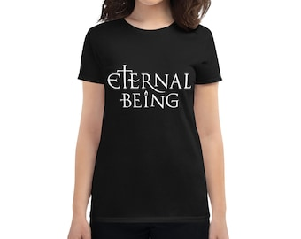Eternal Being (light) - Esoteric Spiritual Shirt for Women