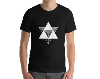 Merkabah - Sacred Geometry Kabbalah Shirt for Men