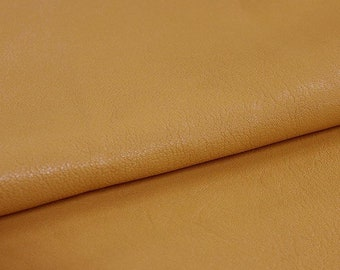 """Leather 7.75""""x12"""" Butterscotch Beautiful European Cowhide Leather  1.2MM"""