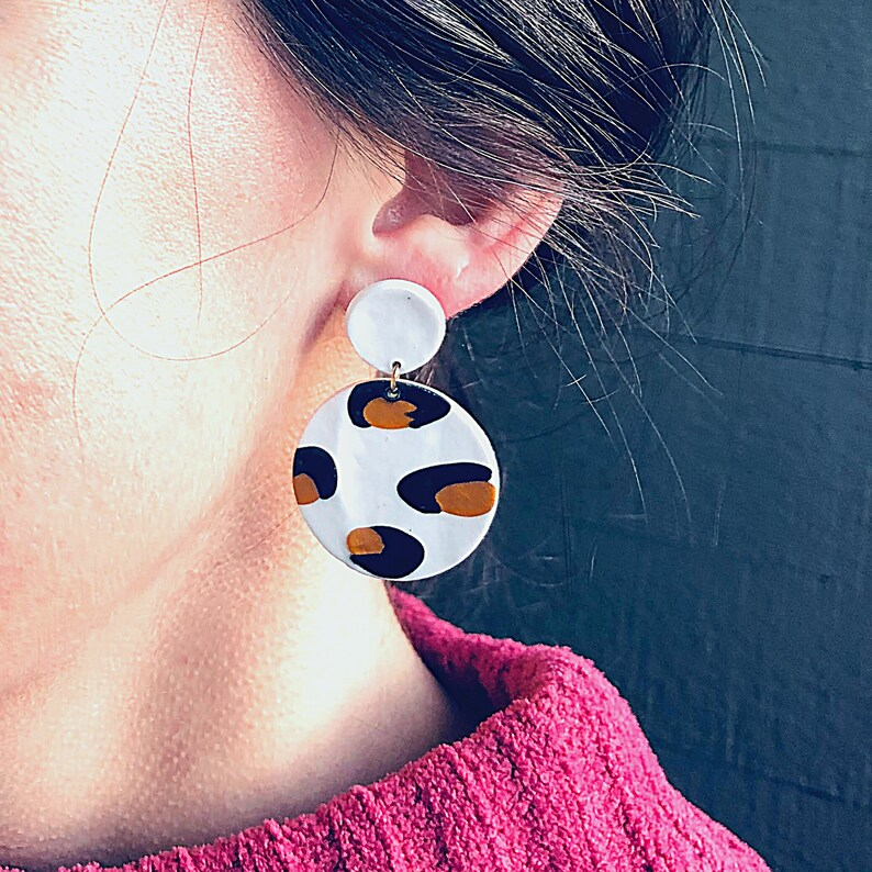 Clay Statement Earrings