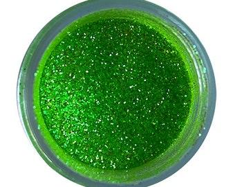 22055 Nontoxic For Decor Use Cake Decorating Sea Green 4 grams CAI Disco Dust