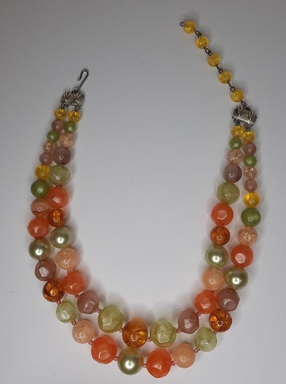 Vintage Coro Bead Necklace