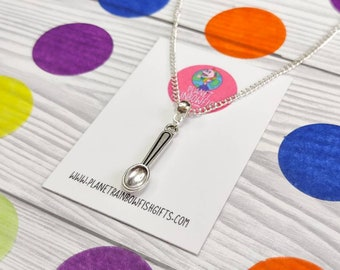 Spoonie Necklace   Spoon Necklace   Chronic Illness   Mental Health Awareness   Spoonie Gifts