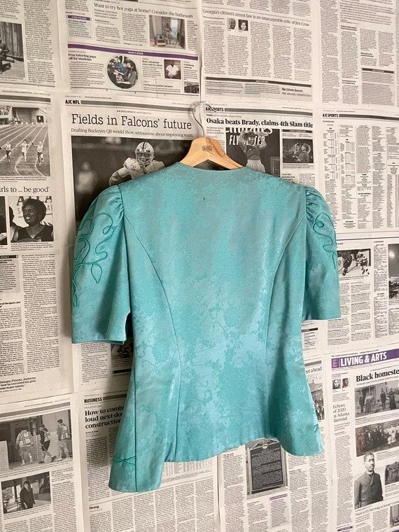 Vintage Victorian Puff Sleeve Blouse| Puff Sleeve… - image 9