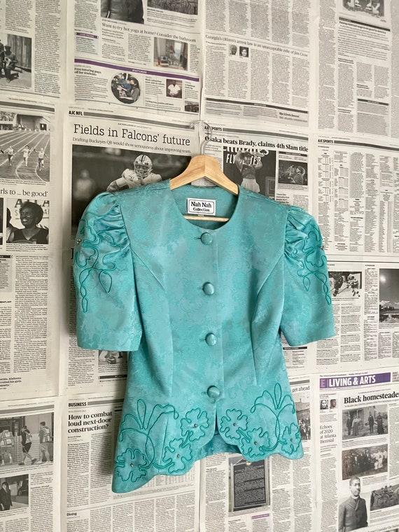 Vintage Victorian Puff Sleeve Blouse| Puff Sleeve… - image 8