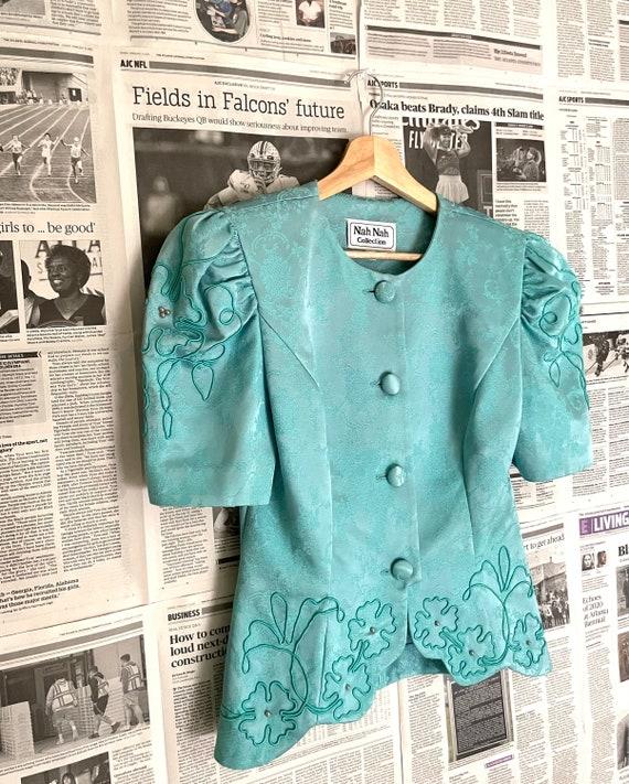 Vintage Victorian Puff Sleeve Blouse| Puff Sleeve… - image 5