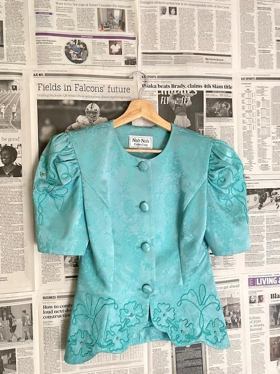 Vintage Victorian Puff Sleeve Blouse| Puff Sleeve… - image 7