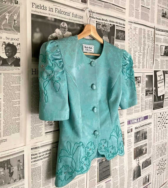 Vintage Victorian Puff Sleeve Blouse| Puff Sleeve… - image 2
