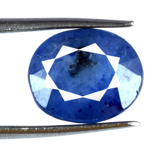 Burma Blue Sapphire Natural 4-6 Ct Loose Gemstone Oval Untreated AGSL Certified
