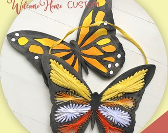 Butterfly SVG laser cut files such as Glowforge - Mothers Day Gift - Birthday gift - Great for Parties  by Welcome home custom