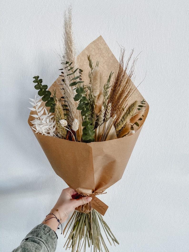 XXL Greenery Trockenblumen Strauß