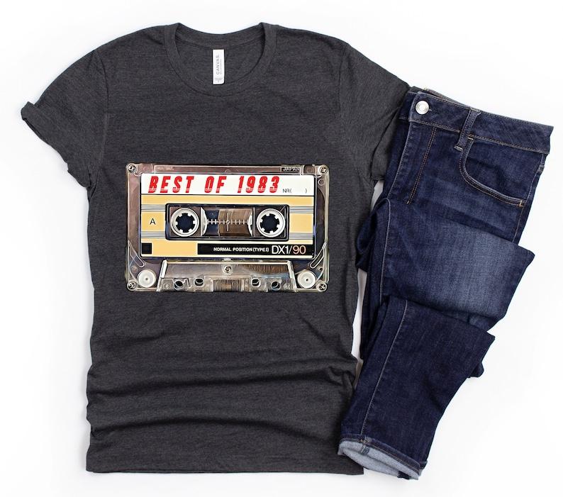 38th Birthday Best of 1983 Cassette T-Shirt