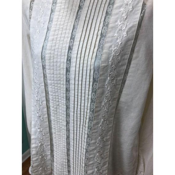 Vintage 1980s Karen Scott Victorian Lace Inspired… - image 7