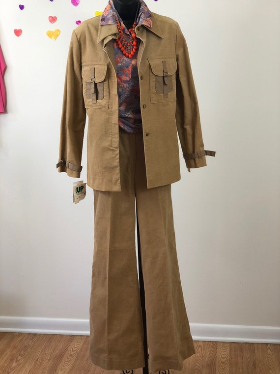 Leisure Suit -  Corduroy Tan Acting Up -  Dead Sto