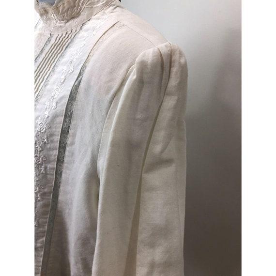 Vintage 1980s Karen Scott Victorian Lace Inspired… - image 5