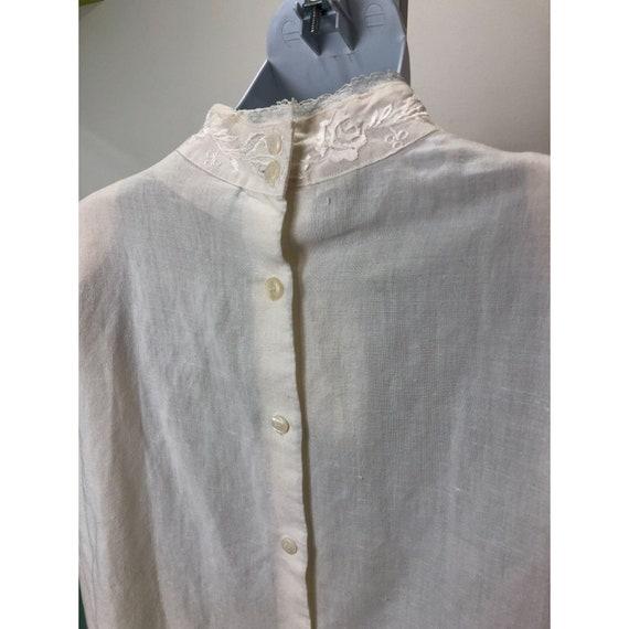 Vintage 1980s Karen Scott Victorian Lace Inspired… - image 3