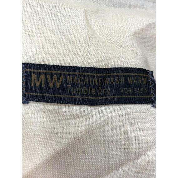 Vintage 1970s MW Green Plaid Wide Leg Pants 33 x … - image 9