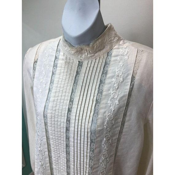 Vintage 1980s Karen Scott Victorian Lace Inspired… - image 4