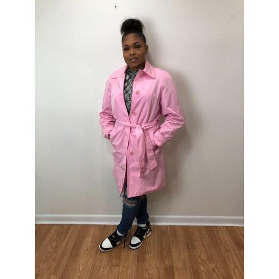 Liz Claiborne Pink Raincoat