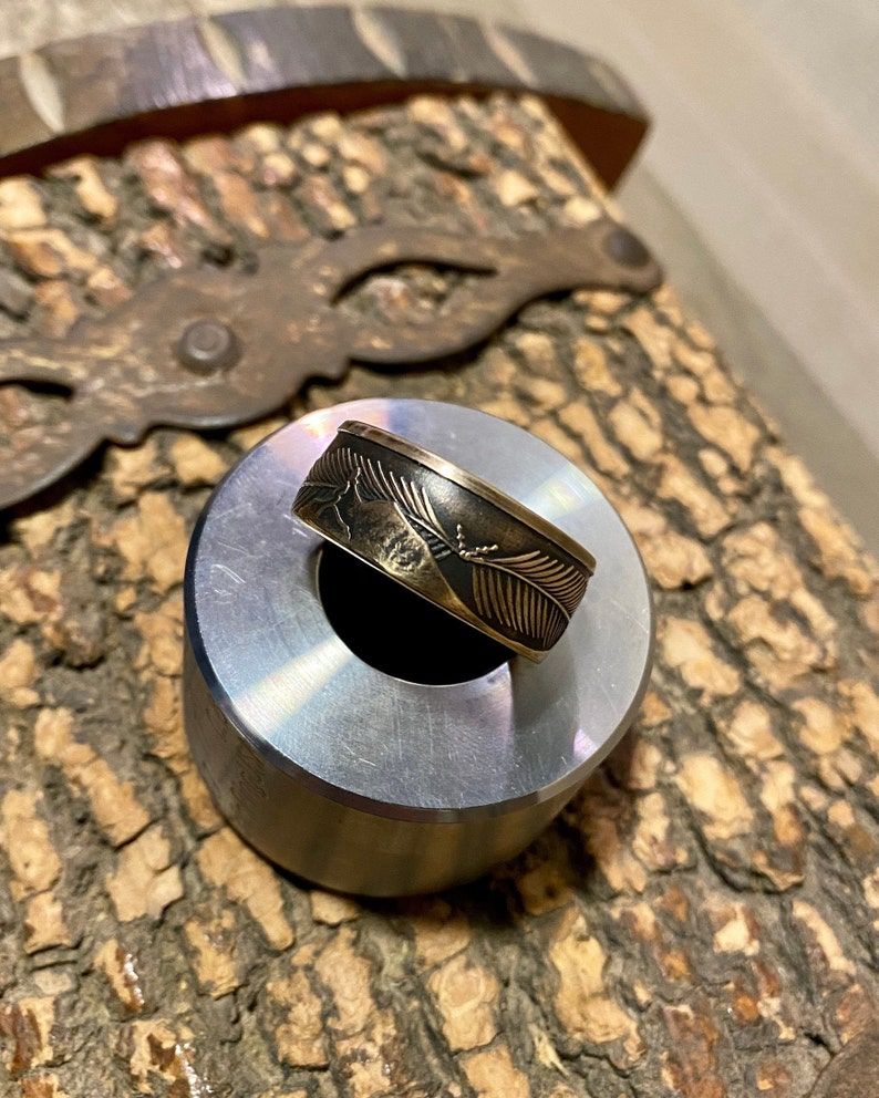For Service in Iraq Iraq Campaign Medal RING