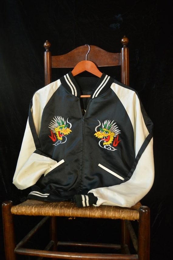 Vintage Japanese Souvenir Jacket Sukajan