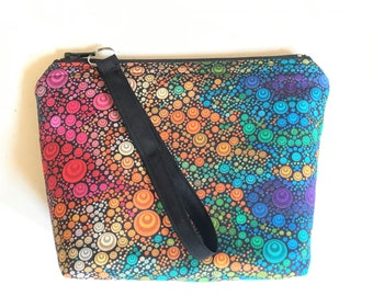 Small Zipper Pouch The Concentric Pouch I