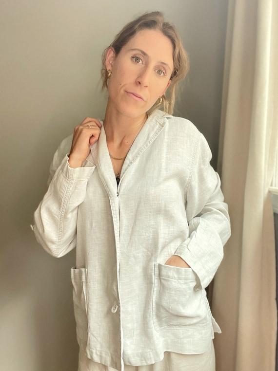 Linen Shirt Jacket - image 4