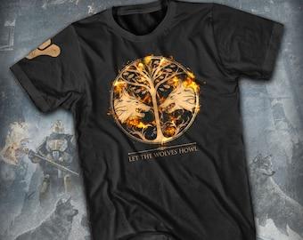 Let the Wolves Howl - Destiny Iron Banner Unisex T-Shirt