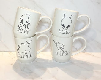 Believer Mug Set by 5 Lines Pottery