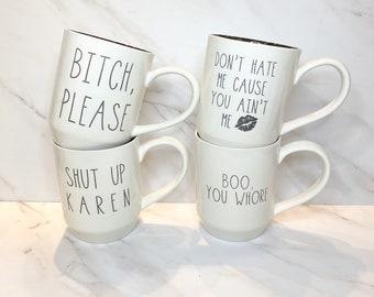 I'm A Little Bitchy Mug Set