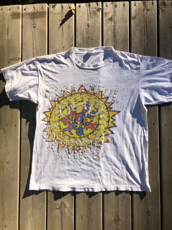 Vintage Grateful Dead 1993 Summer Tour with Sting