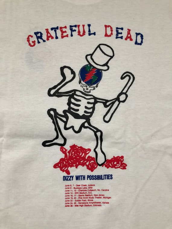 Vintage Grateful Dead 1991 Summer Tour T-Shirt