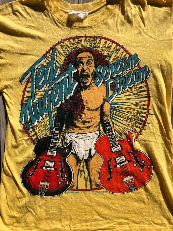 Vintage Ted Nugent 1980 Scream Dream T-Shirt