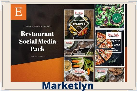 5 Food Social Media Pock Instagram Facebook And Pinterest Etsy