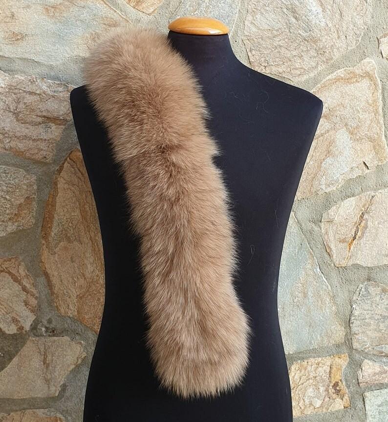 trim for hood,fur collar,fox fur for hood Fur trim,fur scarf
