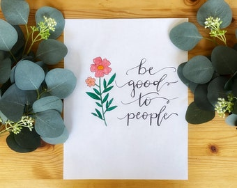 Practice Calligraphy Coloring, Tracing Hand Drawn Sheets- Pack of 4 Coloring, Tracing Sheets- Create A Hand Lettered Masterpiece Easily
