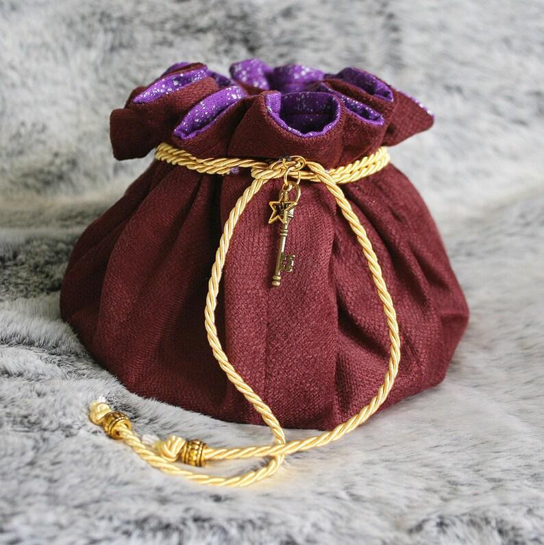 DICE POUCH Vintage Berry