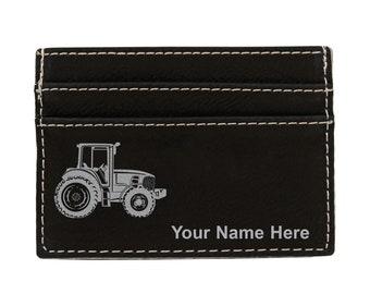 ON SALE Green Tractor zip coin wallet