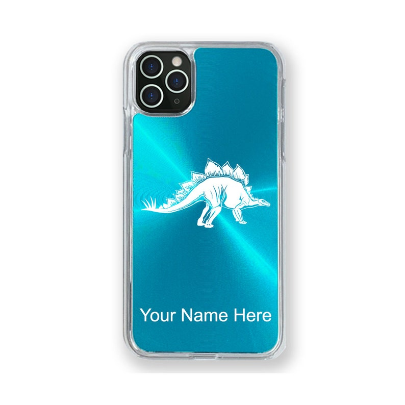 11 Pro 11 Pro Max Stegosaurus Dinosaur Personalized Engraving Included Case Compatible with iPhone 11