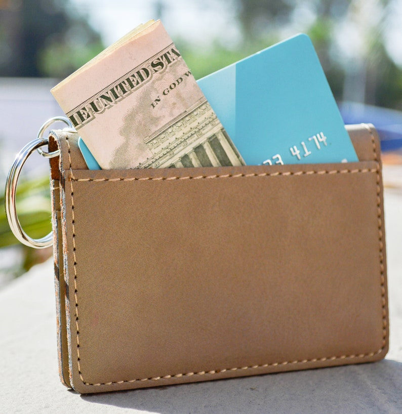 Personalized Engraving Included Band Director ID Holder Wallet