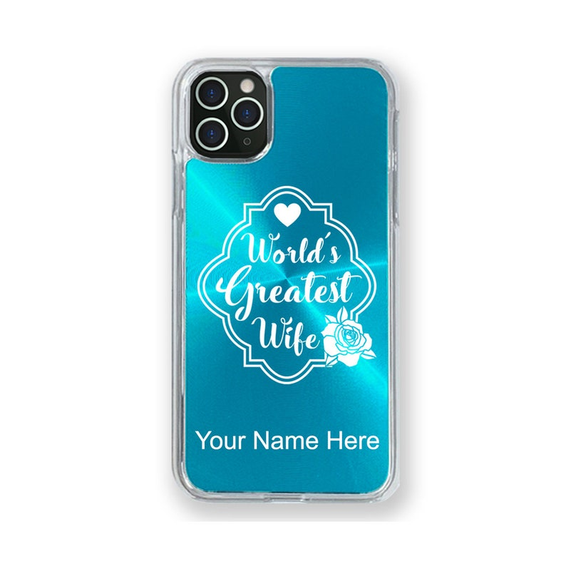 11 Pro 11 Pro Max Case Compatible with iPhone 11 World/'s Greatest Wife Personalized Engraving Included