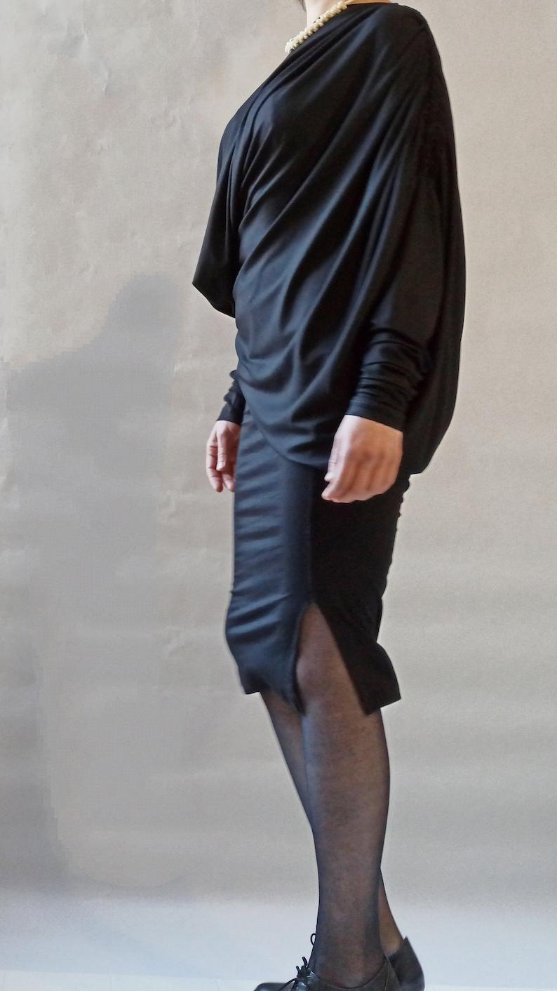 Formal Dress Woman Dress Black Elegant Dress Designer Dress Black Dress