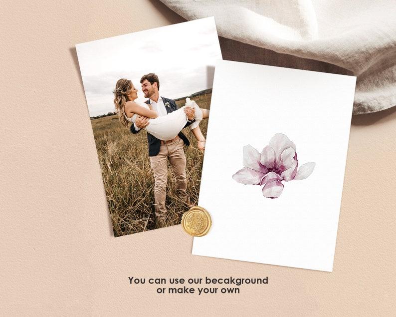 SOSA Wedding Reception and Details Template Download PDF Wedding Bundle Template Instant Download Invitation Blush Pink Respond Card