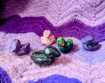 Tiny Ceramic Ducks