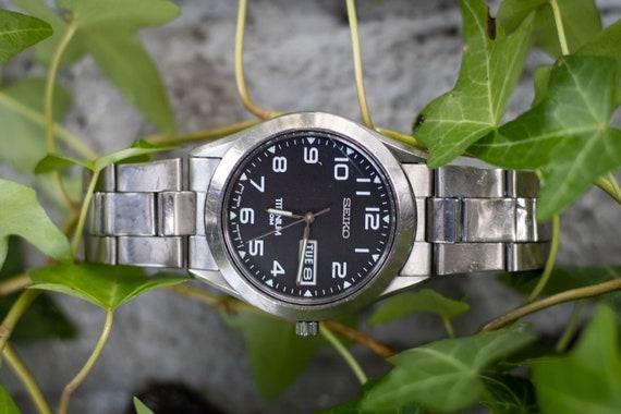 Titanium Seiko Men's Watch