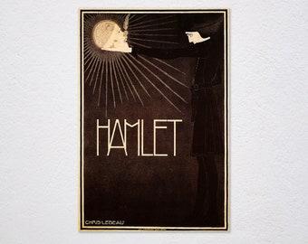 Denmark Elsinore 1926 City Of Hamlet Vintage Poster Print Retro Style Travel Art